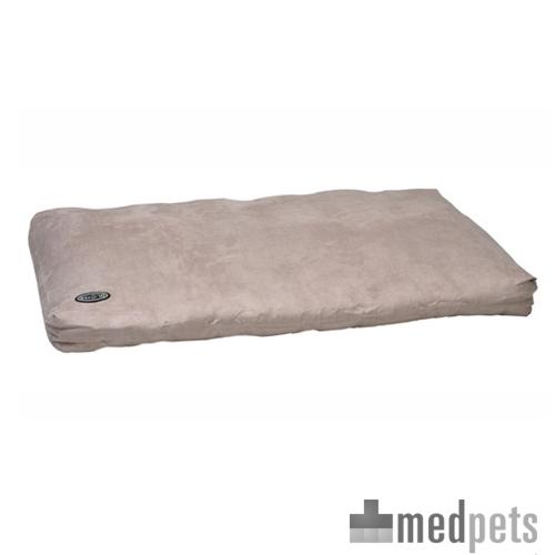 Buster Memory Foam Dog Bed - Beige - 120 x 100 cm
