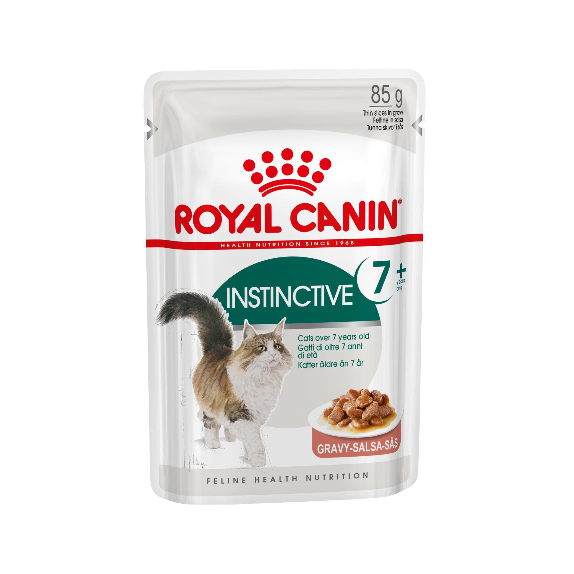 Royal Canin Instinctive 7+ in Gravy - Sachet