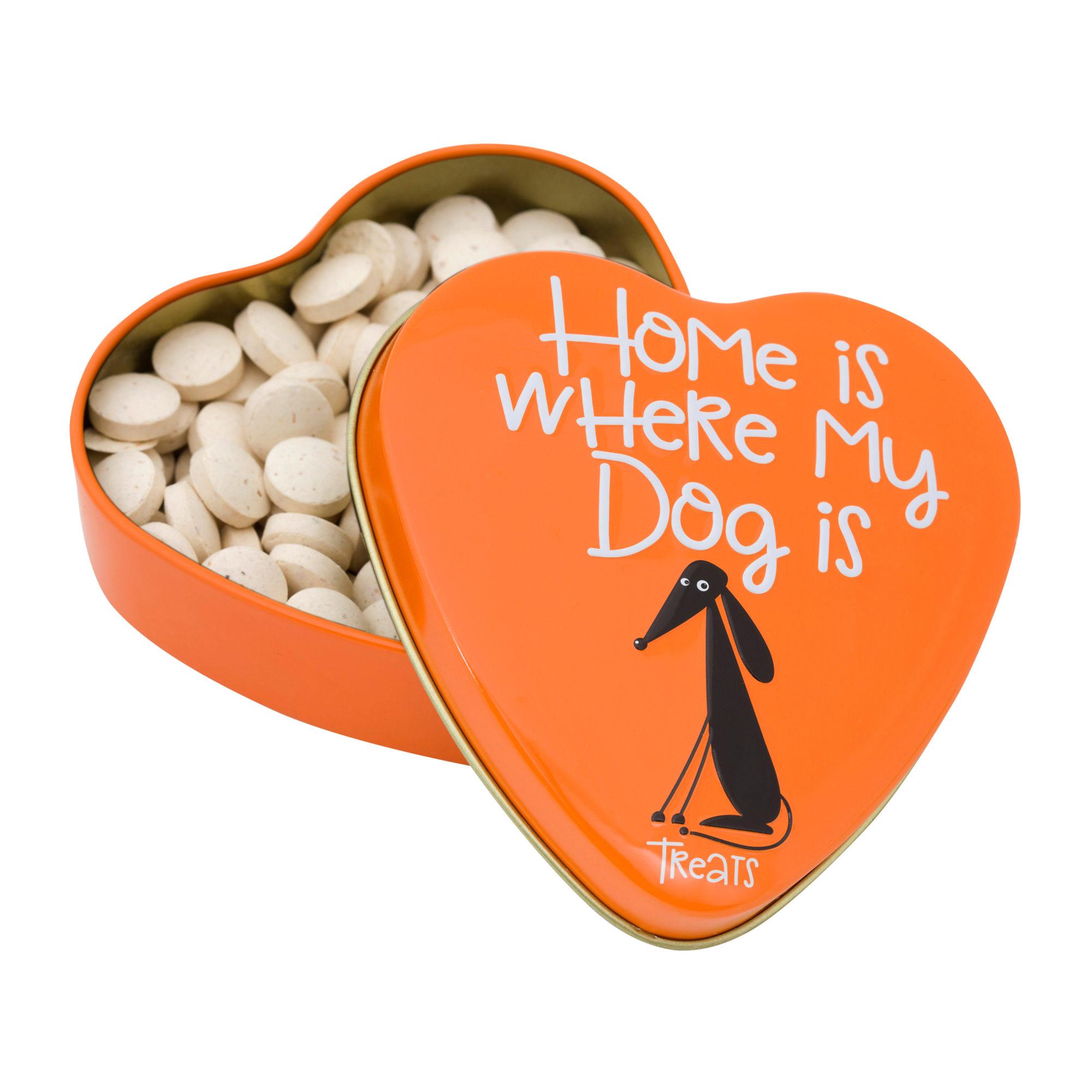 Sanal - Friandises pour chien en boîte en forme de cœur