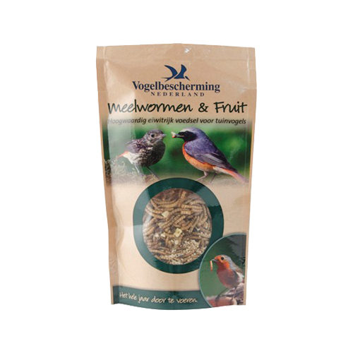 Vogelbescherming - Vers de farine et fruit