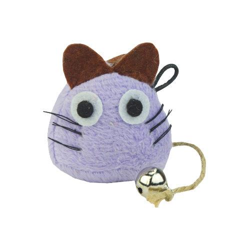Crazy Cat Funny Mouse - Souris avec cataire - Lila