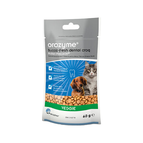Orozyme Bucco-Fresh Dental Croqs - Klein