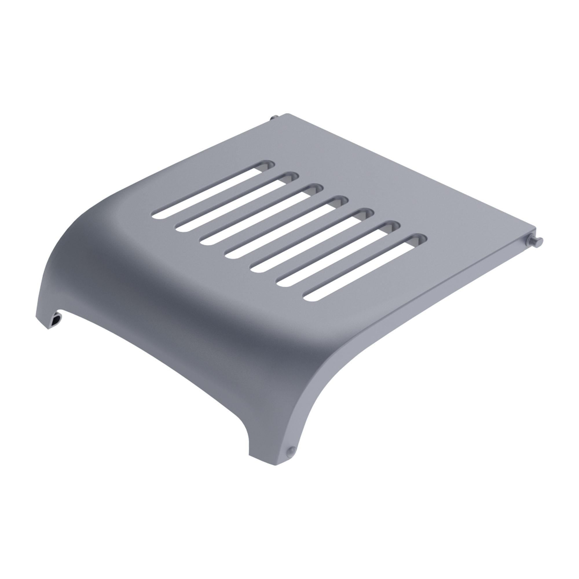 PeeWee EcoDome - Bac à litière pour chat - Couvercle pour filtre - Anthracite