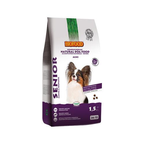 Biofood Senior Mini Hundefutter - 1,5 kg
