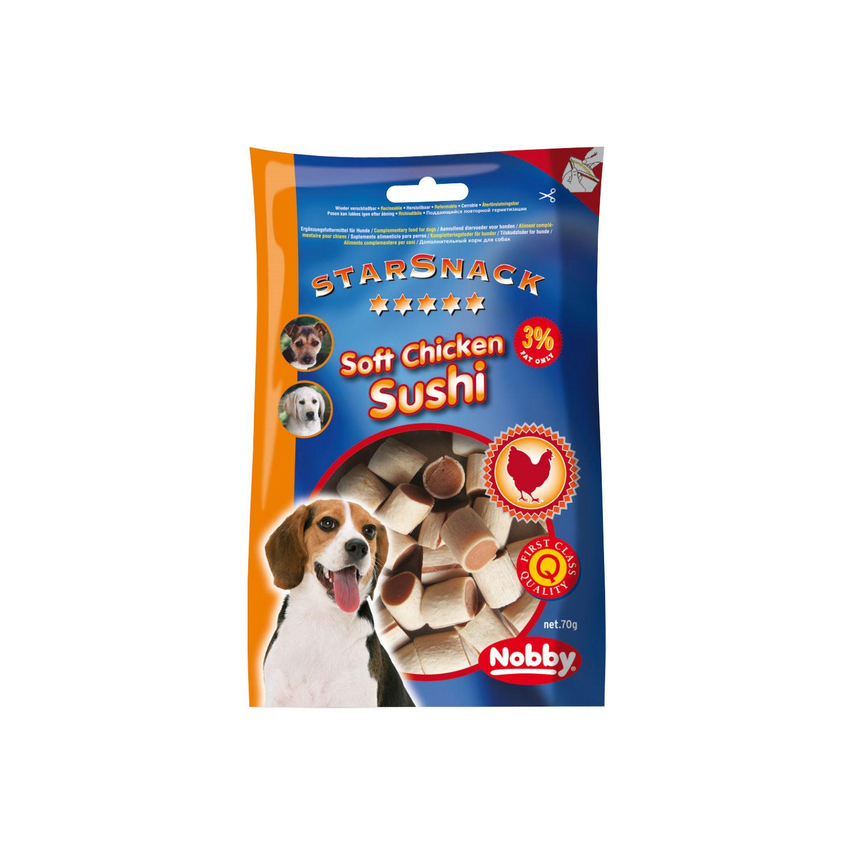 Nobby Starsnack - Chicken Sushi