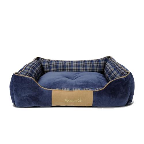 Scruffs Highland Box Bed - Blau