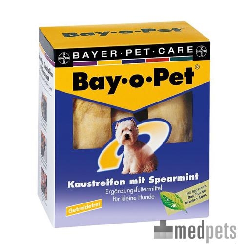 Bay-o-Pet Kaustreifen Spearmint - kleine Hunde - 140 g