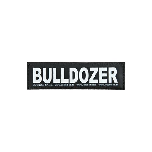 Julius K9 Labels - Grand format - Bulldozer
