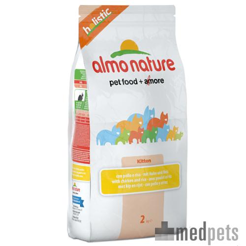 Almo Nature Holistic - Chaton - Poulet & Riz - 2 kg