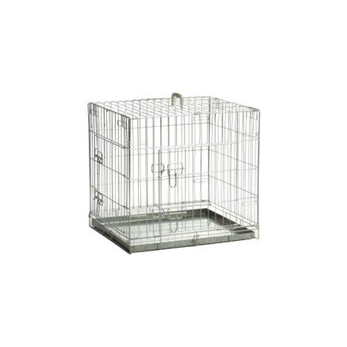 Beeztees - Caisse zinguée pour chien avec 2 portes - 78 x 55 x 61 cm