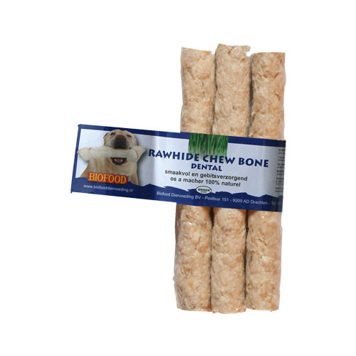 Biofood Kauknochen Rawhide Dental - 2 Stück