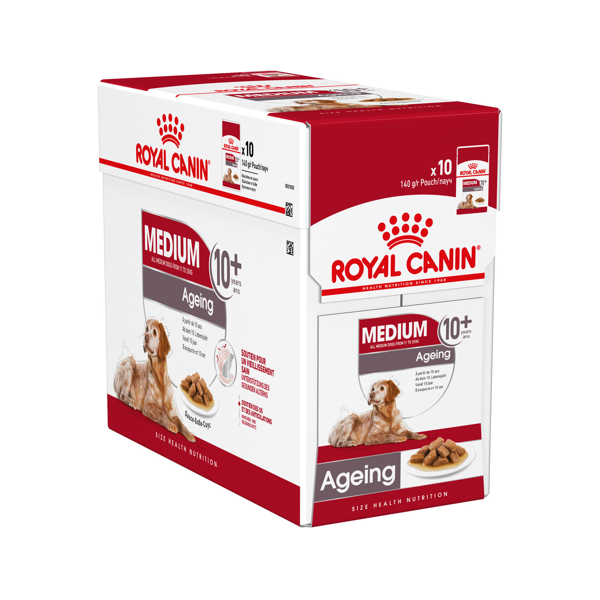 Royal Canin Medium Ageing 10+ Hundefutter - Frischebeutel