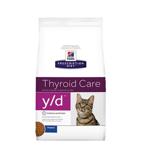 Hill's Prescription Diet y/d Thyroid Care Katzenfutter