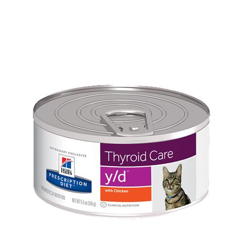 Hill's Prescription Diet y/d Thyroid Care - Boîte