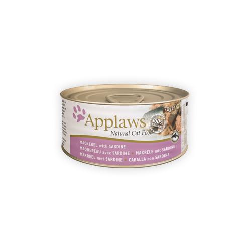 Applaws Katzenfutter - Dosen - Mackerel & Sardine
