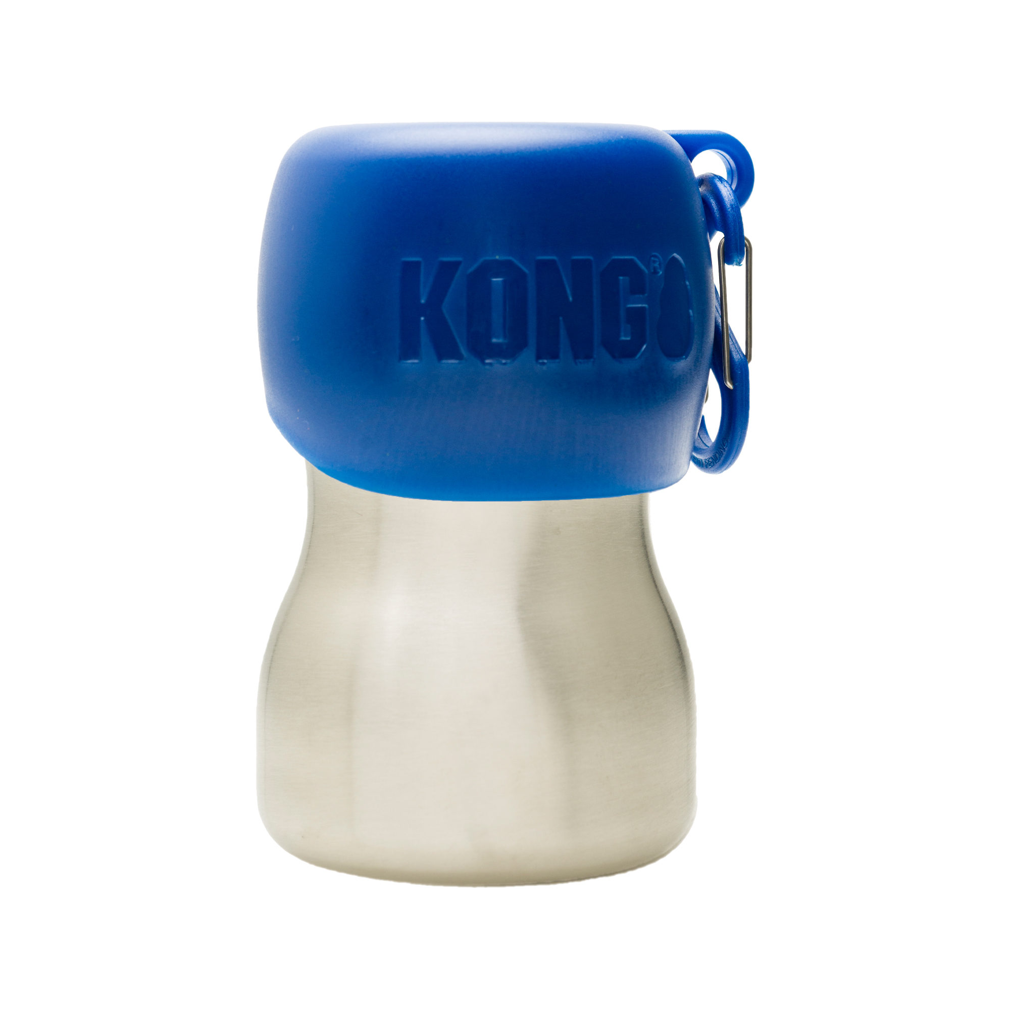 KONG H2O Stainless Steel Water Bottle - Blau