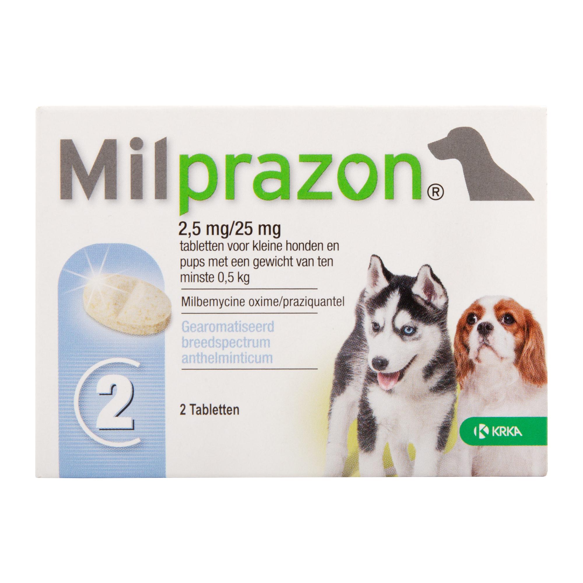 Milprazon - kleine Hunde (2,5 mg)