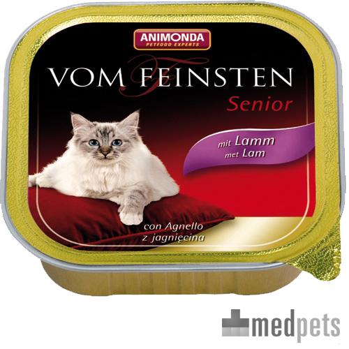 Animonda Vom Feinsten Senior Katenzfutter - Schälchen - Lamm - 32 x 100 g