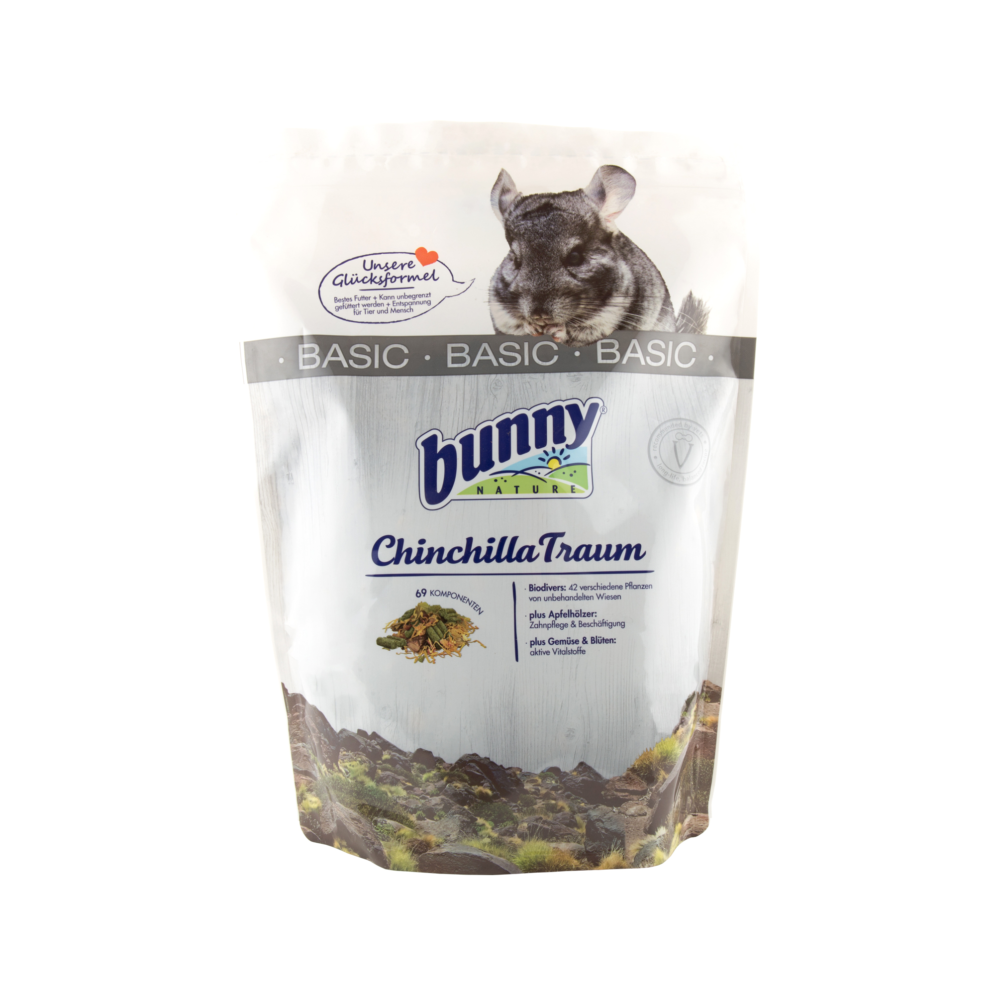 Bunny Nature - Rêve de chinchilla - Basic - 1,2 kg