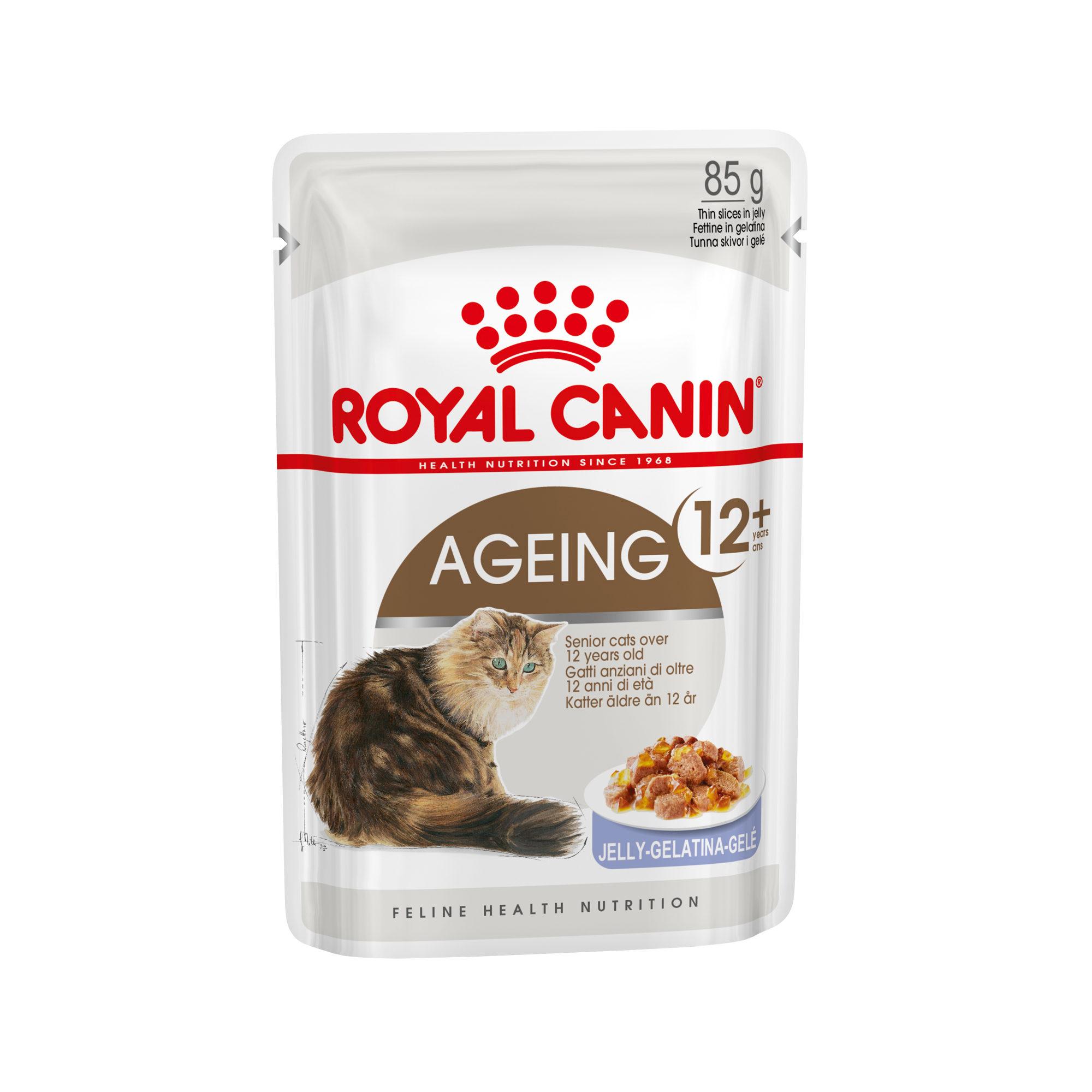 Royal Canin Ageing 12+ in Jelly Katzenfutter - Frischebeutel