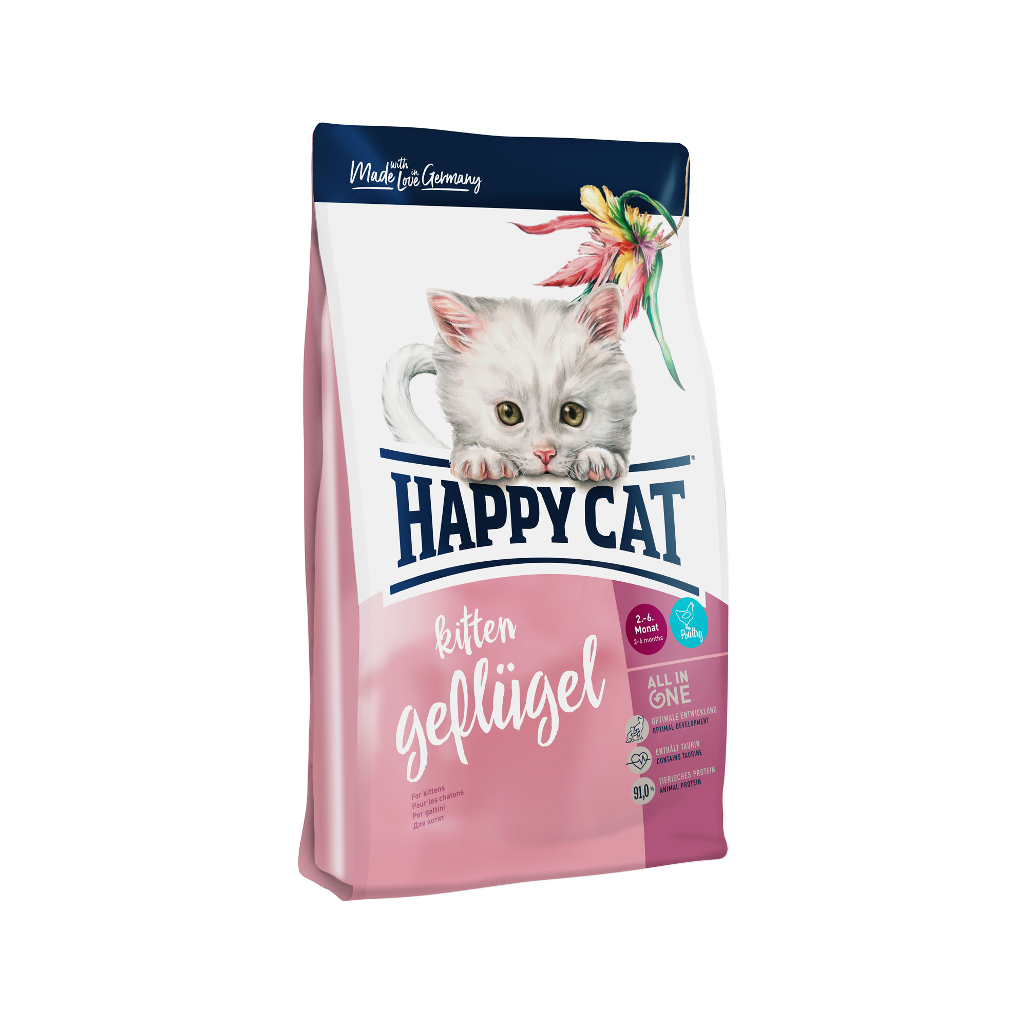 Happy Cat - Chaton- Volaille