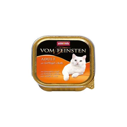 Animonda vom Feinsten Adult Katzenfutter - Schälchen - Geflügel & Kalb