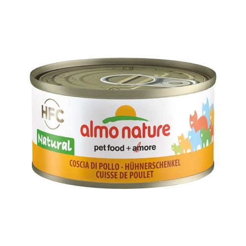Almo Nature HFC 70 Natural - Cuisses de poulet - Boîte