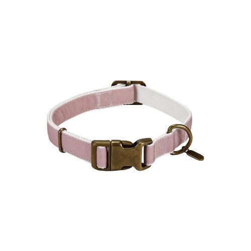 Designed By Lotte - Collier en nylon pour chien - Virante - Rose clair