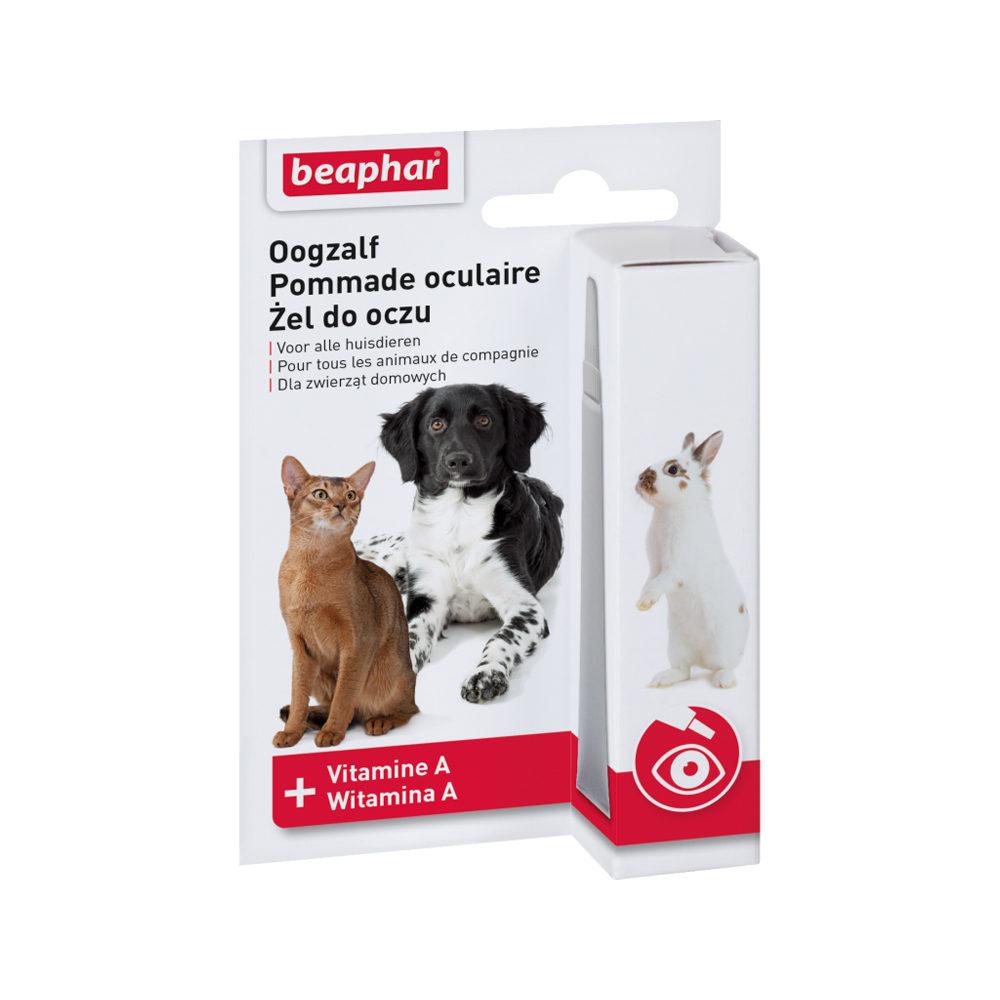 Beaphar - Pommade pour les yeux - Chien, chat et rongeur