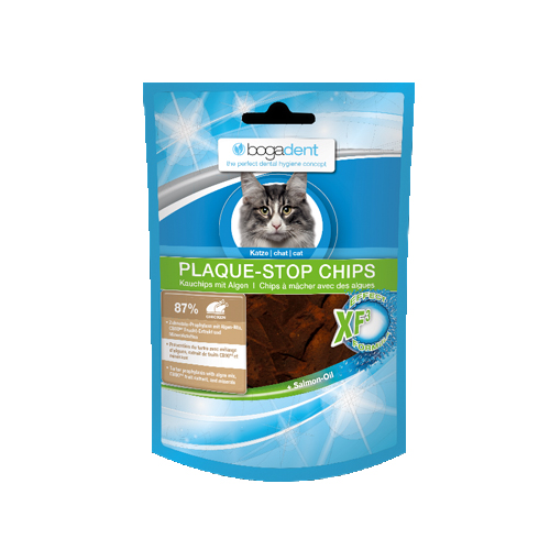 Bogadent Plaque-Stop Chips - Chat - Poulet