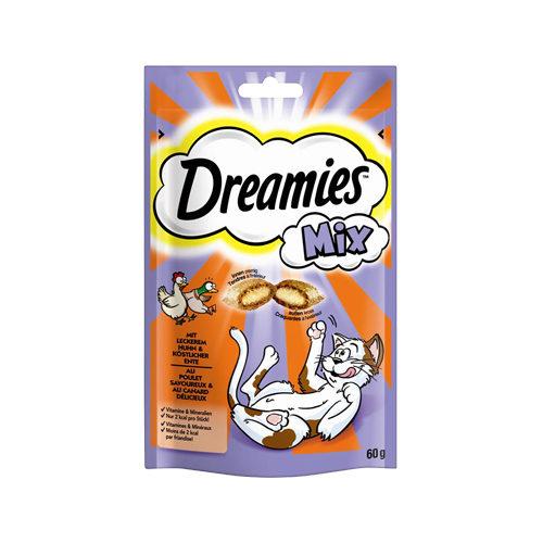 Dreamies - Friandise pour chat - Mix - Poulet et canard