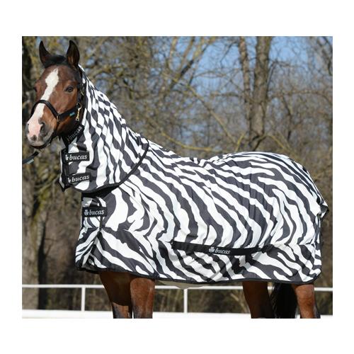 Bucas Sweet-Itch Zebra Full Neck