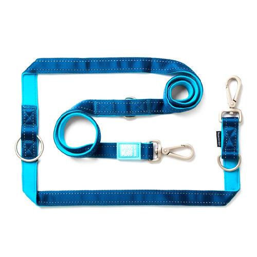 Max & Molly Multi-Function - Laisse pour chien - Bleu