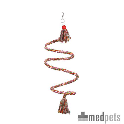 Happy Pet Vogelsitzstange Baumwolle - Spiralförmig hängend