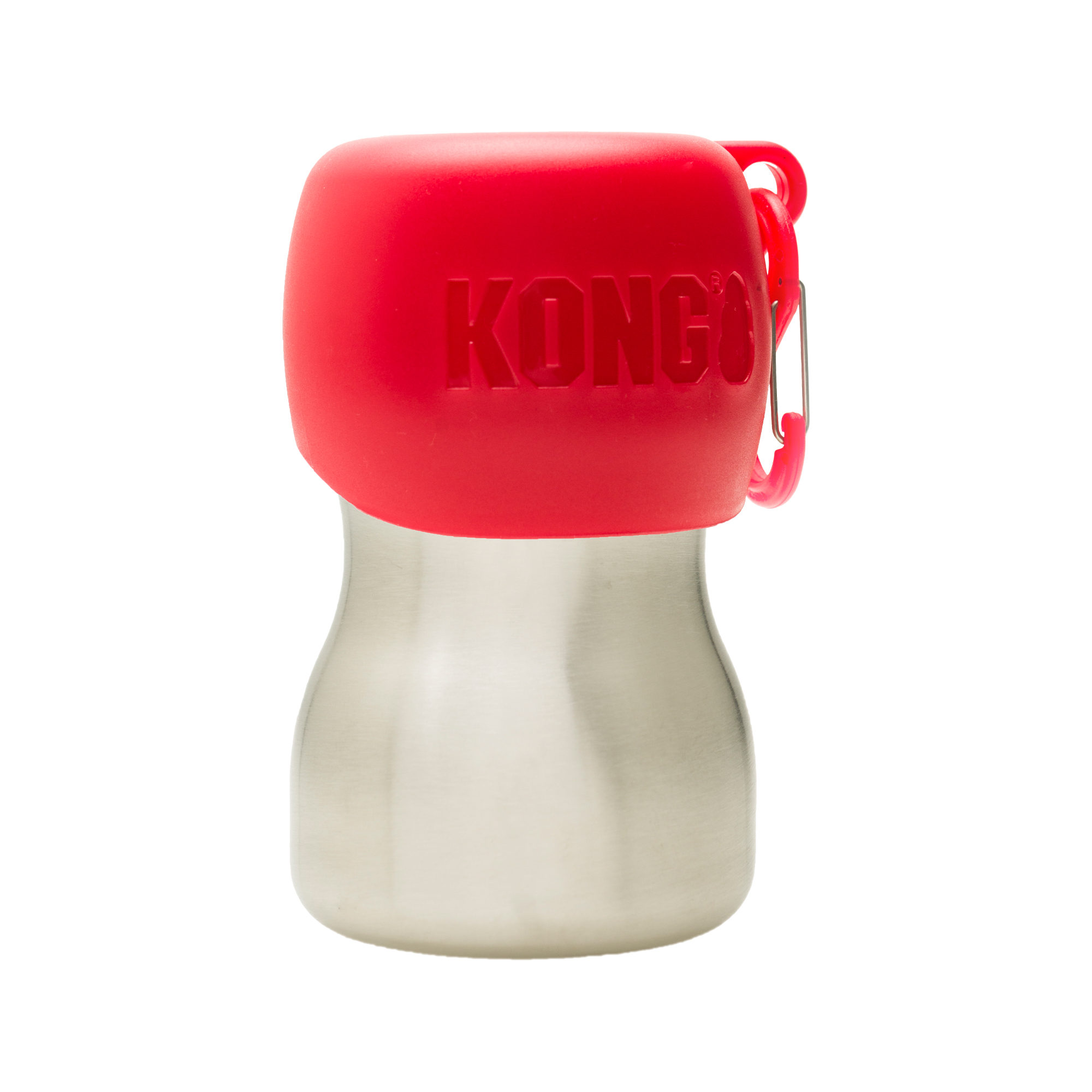 KONG H2O Stainless Steel Water Bottle - Rot