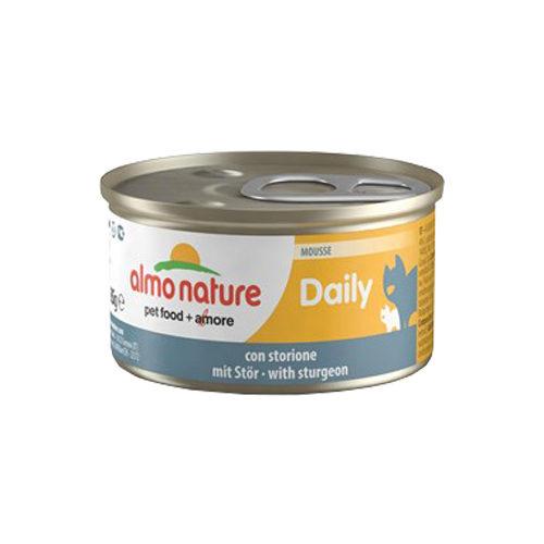Almo Nature Daily Menu Mousse Katzenfutter - Dosen - Stör - 24 x 85 g