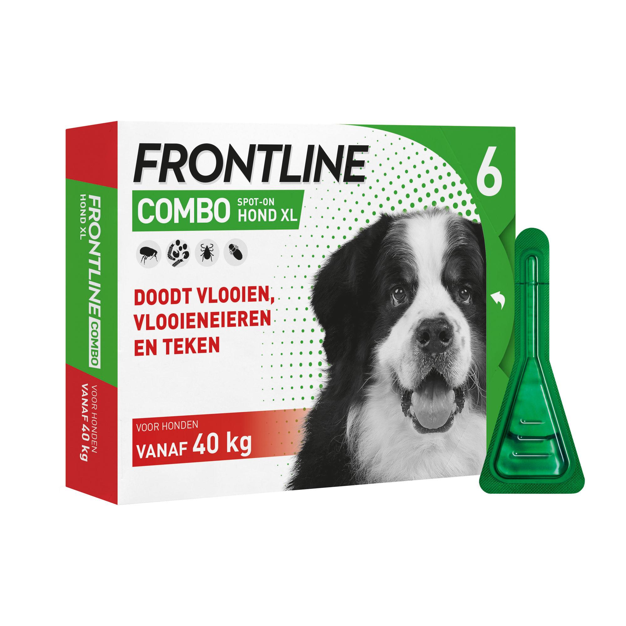 Frontline Combo Hund XL - 40 - 60 kg