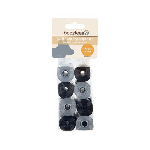 Beeztees - Distributeur de sacs à déjection - Recharge - 8 x 20 unités