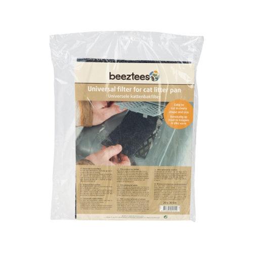 Beeztees - Filtre pour bac à litière pour chat