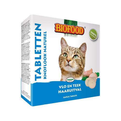 Biofood Knoblauchtabletten für Katzen - Naturell - 100 Tabletten