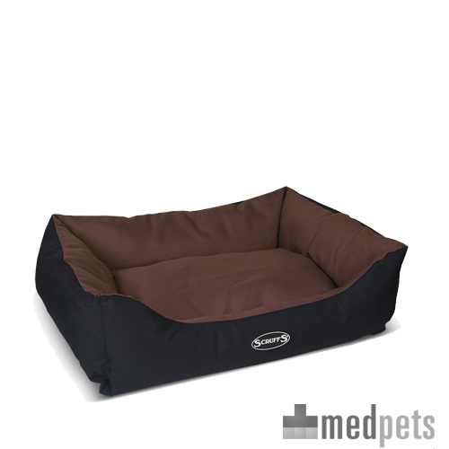 Scruffs Expedition Box Bed - Braun