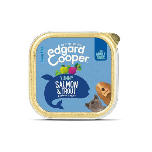 Edgard & Cooper Adult - Barquette - Saumon et truite