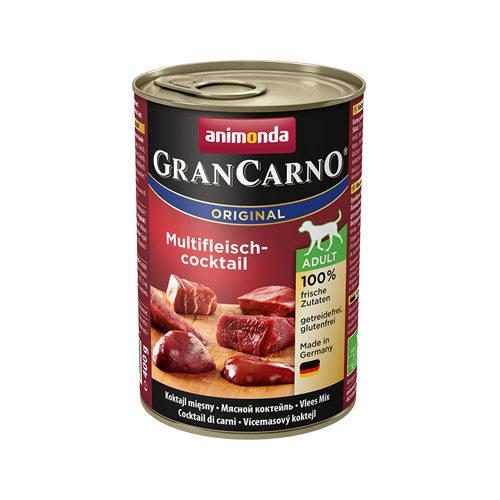 Animonda GranCarno Original Adult Hundefutter - Dosen - Multifleischcocktail - 6 x 400 g