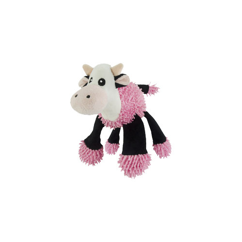 Fuzzle Cuddly Toys with 5 Squeakers - Vache