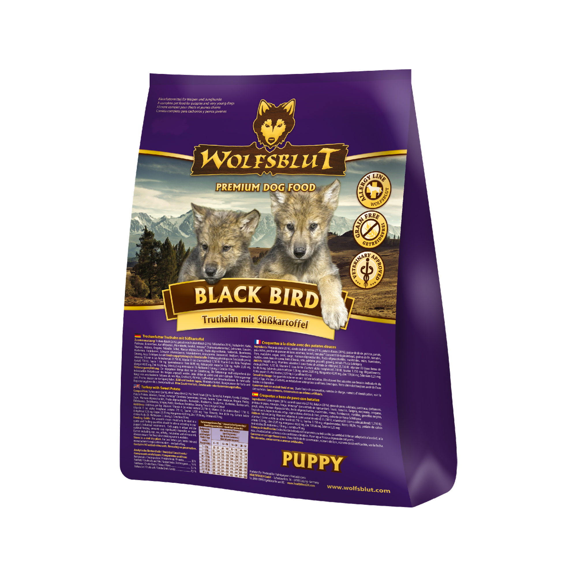 Wolfsblut Black Bird Puppy Hundefutter