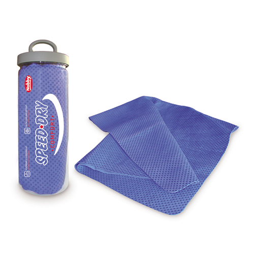 Nobby Speed-Dry Comfort Handtuch - Blau