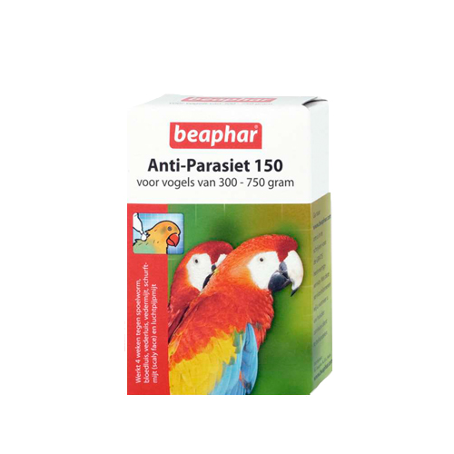 Beaphar - Anti parasite 150 pour oiseau