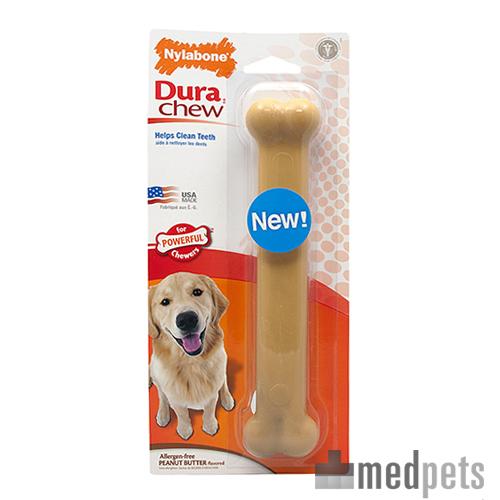 Nylabone Dura Chew Peanut Butter Hundeknochen - Giant (Bis 20 Kg)