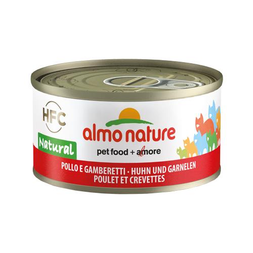 Almo Nature HFC 70 Natural - Poulet et crevette - Boîte