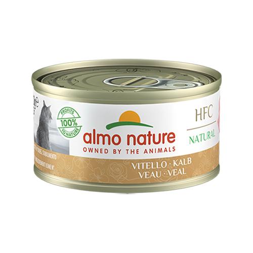 Almo Nature Classic Katzenfutter - Dosen - Rind